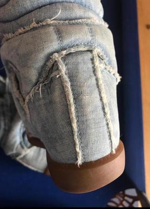 Джинсовые кроссовки isabel marant. оригинал.9 фото