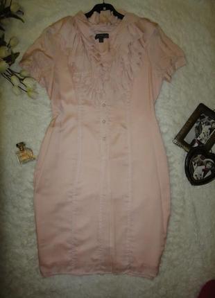 Воздушное нарядное платье fever шелк + полиестер2 фото