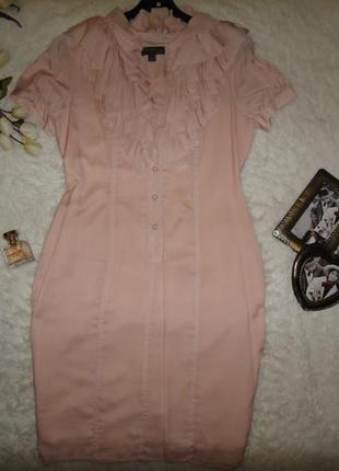 Воздушное нарядное платье fever шелк + полиестер