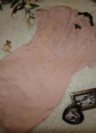 Воздушное нарядное платье fever шелк + полиестер3 фото