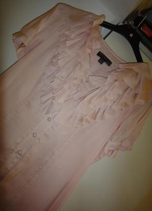 Воздушное нарядное платье fever шелк + полиестер4 фото