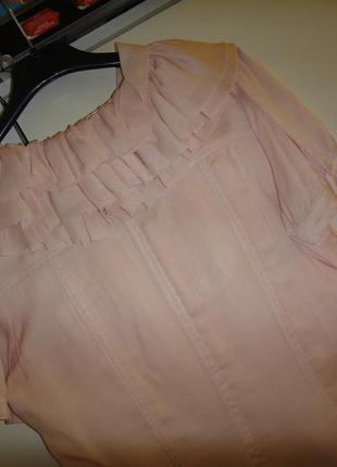 Воздушное нарядное платье fever шелк + полиестер7 фото