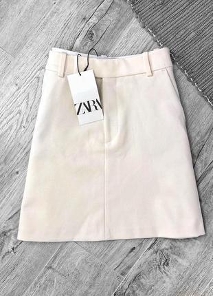 Новая идеальная юбка нежного цвета от zara1 фото