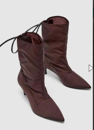 Ботинки zara2 фото