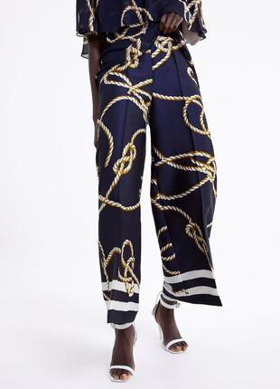 Стильные кюлоты брюки от zara3 фото