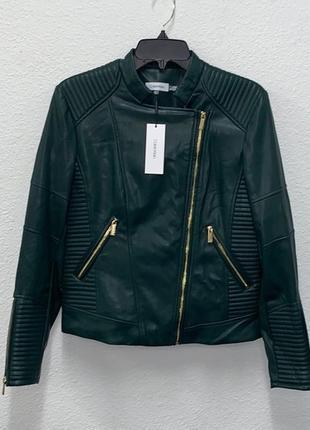 Темно-зеленая куртка calvin klein1 фото