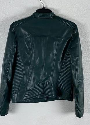 Темно-зеленая куртка calvin klein2 фото