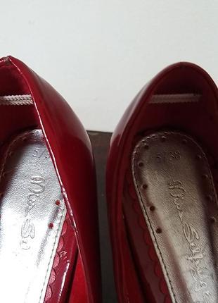Женские лаковые туфли р 383 фото