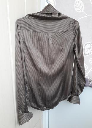 Блуза ,рубашка из чистого шелка blunauta,италия.2 фото