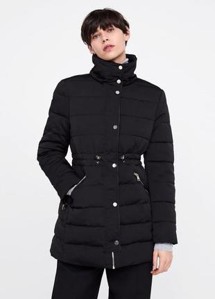 Тёплая куртка от zara2 фото