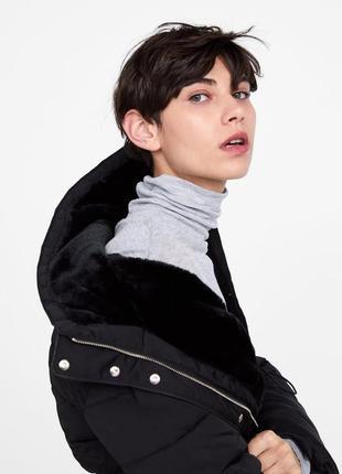 Тёплая куртка от zara3 фото