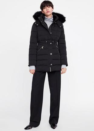 Тёплая куртка от zara1 фото