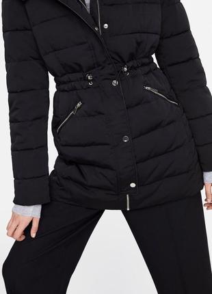 Тёплая куртка от zara4 фото