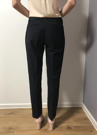 Синие брюки mango suite2 фото