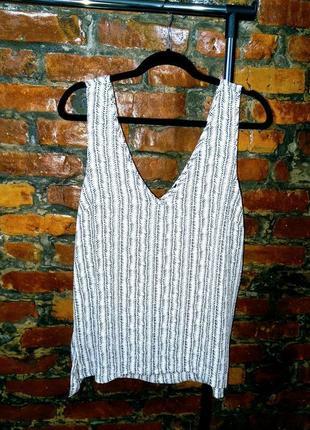 Свободная блуза кофточка топ с v-образым вырезом atmosphere
