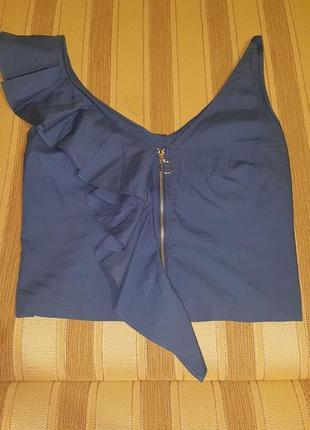 Топ с воланом блуза1 фото