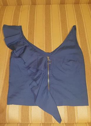 Топ с воланом блуза2 фото