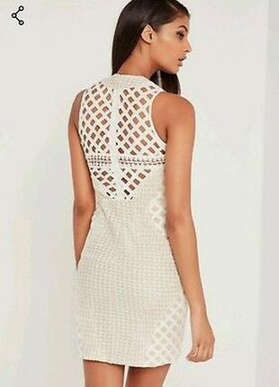 Шикарное ажурное кружевное платье missguided2 фото