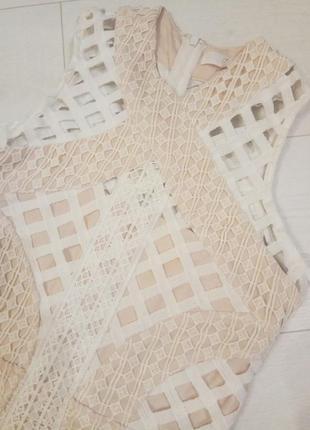 Шикарное ажурное кружевное платье missguided4 фото