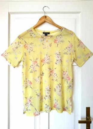 Трендова футболка/топ сіточка від new look, на р. м/l1 фото