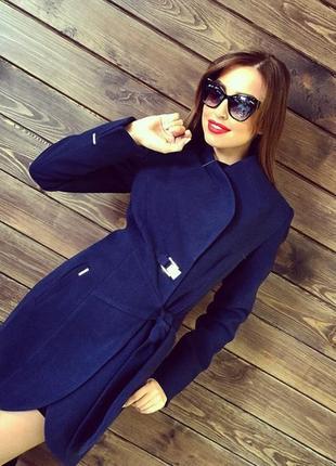 Новое демисезонное пальто  2 цвета 42,44р1 фото
