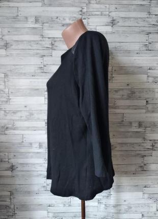 Кофта реглан женская m&s черная2 фото