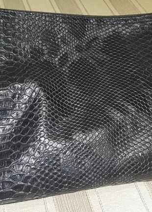 Сумка сумочка клатч под рептилию3 фото