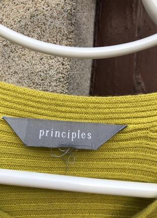 Яркий свитер principles!5 фото
