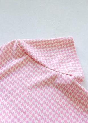 Стильный нежный розовый ромпер размер l2 фото