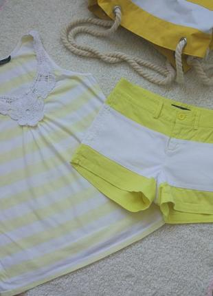 Майка и шорты kira plastinina xs/s1 фото