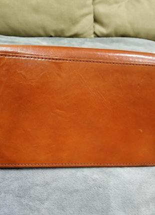 Трендовая кожаная сумка5 фото