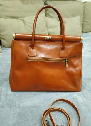 Трендовая кожаная сумка2 фото