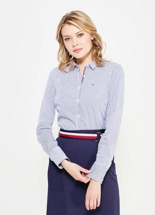 Рубашка в полоску tommy hilfiger3 фото