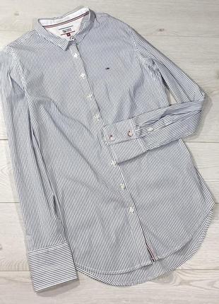 Рубашка в полоску tommy hilfiger1 фото