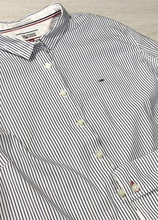 Рубашка в полоску tommy hilfiger4 фото