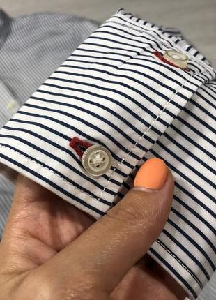 Рубашка в полоску tommy hilfiger6 фото
