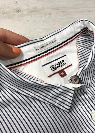 Рубашка в полоску tommy hilfiger8 фото