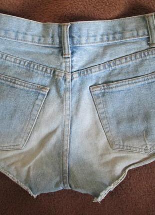 Шипованные джинсовые шорты hearts & bows2 фото
