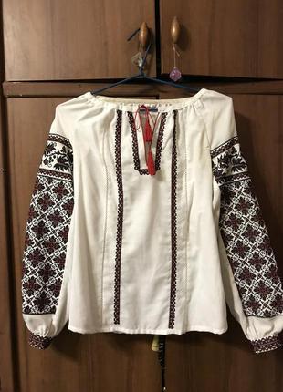 Вишита сорочка/вышитая рубашка/ вишиванка1 фото