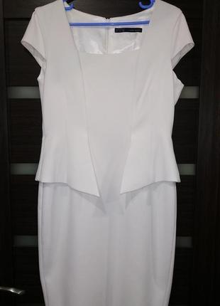 Элегантное платье футляр, свадебное