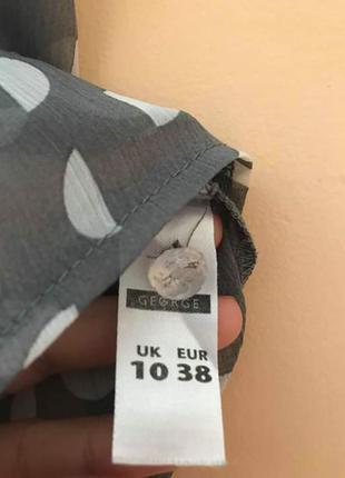 Блуза в горошок4 фото