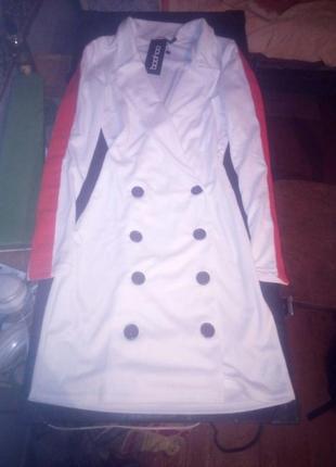 Платье-пиджак от boohoo1 фото