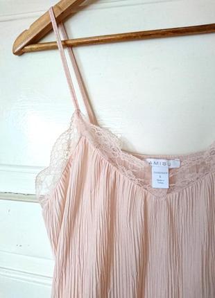 Трендова гофрована блуза/топ в білизняному стилі від amisu, на р. m/l3 фото