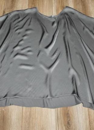 Красивая свободная  блуза из вискозы с шелком3 фото