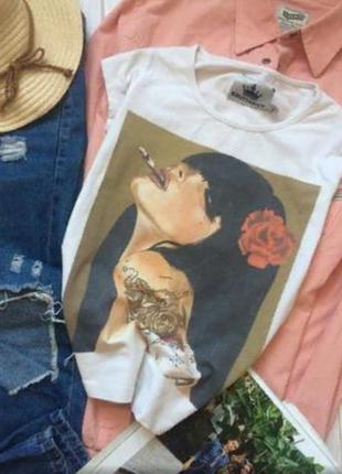 💥стильная футболка для яркого образа💣2 фото