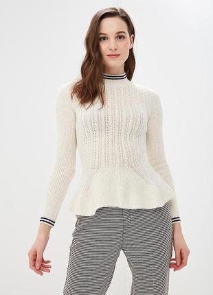 Тёплый свитер с баской miss selfridge3 фото