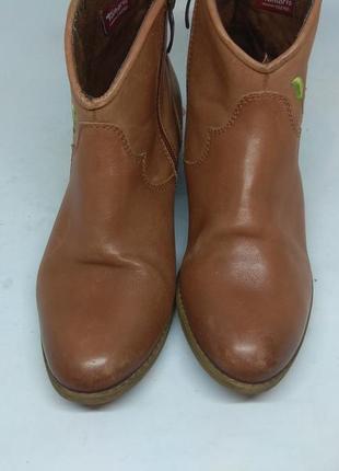 Кожаные ботинки 38 размер2 фото