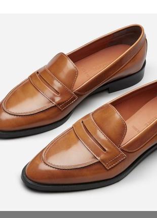 Трендовые кожаные лоферы minelli (бпоги, туфли кожаные)