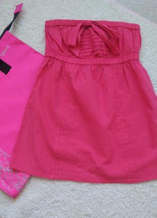 Яркий летний топ, мини-платье1 фото