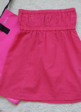 Яркий летний топ, мини-платье2 фото